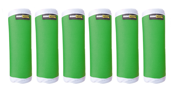 DOTS! Green Luggage Locators (Quantity 12) Reversible: Solid Green