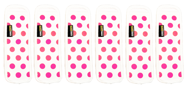 Popsicle Koozies (Pink, Quantity 6)
