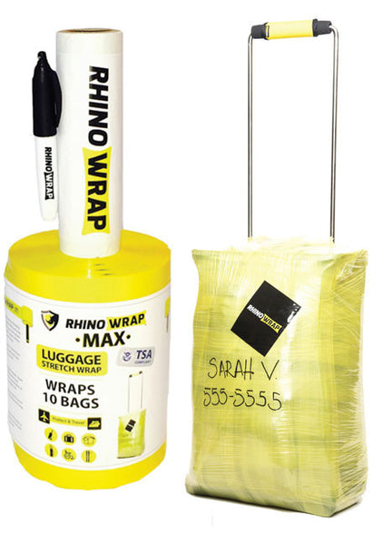 MAX Wraps 10 Bags (Yellow)