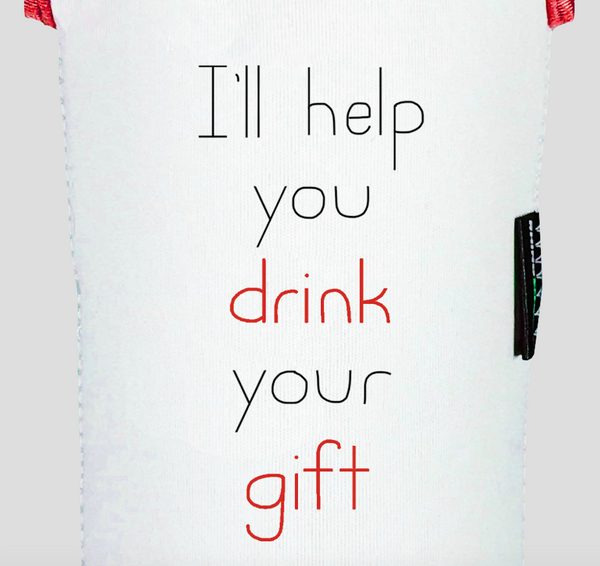 Get Well Soon, Wine / I'll Help You Drink Your Gift