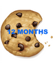 12 MONTH COOKIE SUBSCRIPTION - INCLUDES SHIPPING