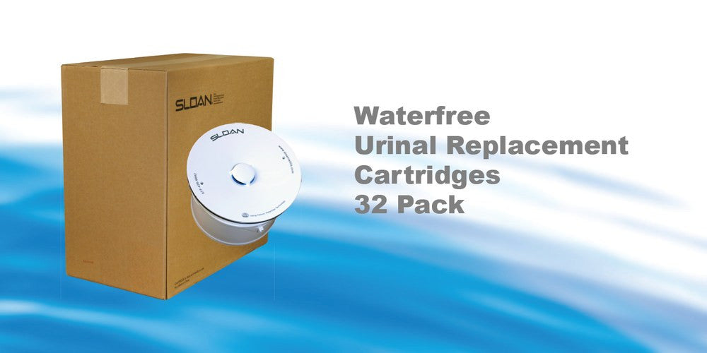 Waterfree Urinal Replacement Cartridges 32 pack
