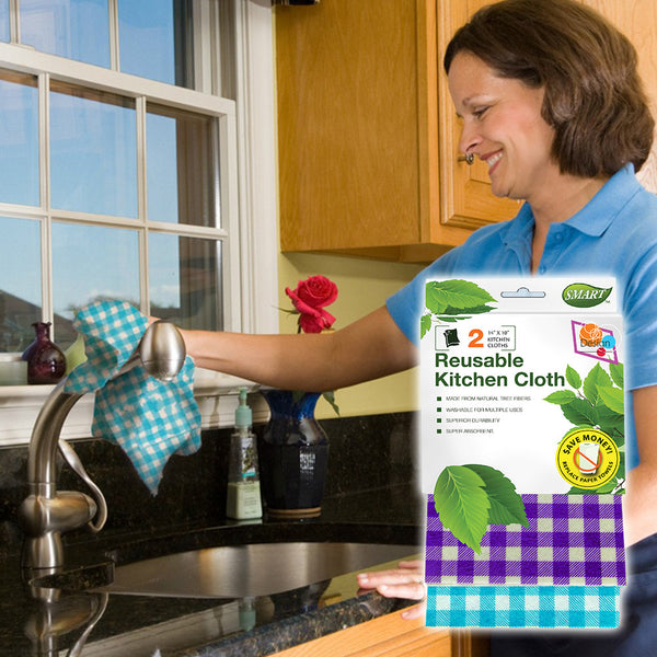 Reusable Kitchen Cloths - Design - FREE TRIAL