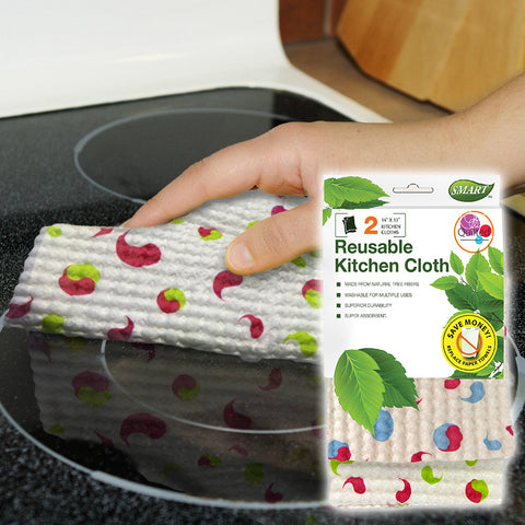 Reusable Kitchen Cloths - Quilted