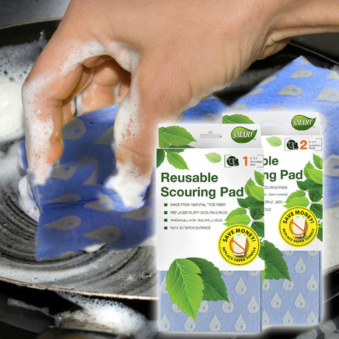 Reusable Cleaning Scouring Pads