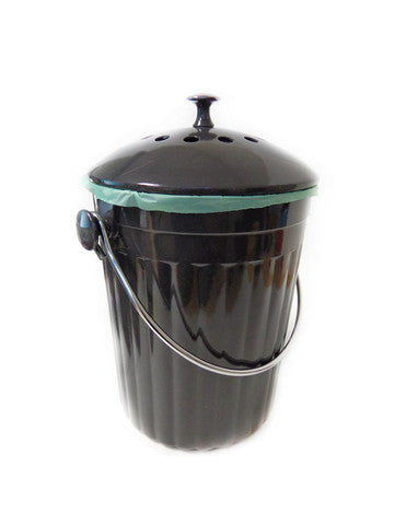 Kitchen Compost Bin with Charcoal Filter 1 Gallon - MOBOO®