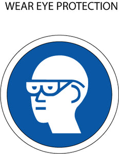 Mandatory Action: Eye Protection
