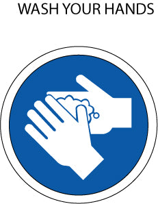 Mandatory Action:  Wash Hands