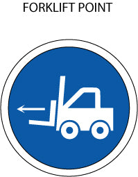 Mandatory Action: Forklift Point