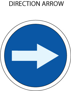 Mandatory Action: Directional Arrow