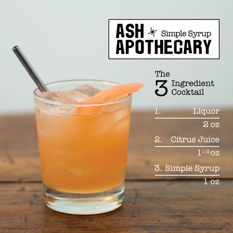 Ash Apothecary 3 Ingredient Cocktail Recipe