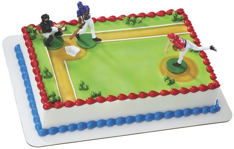 Batter Up Custom 1/4 Sheet Cake- Serves 20