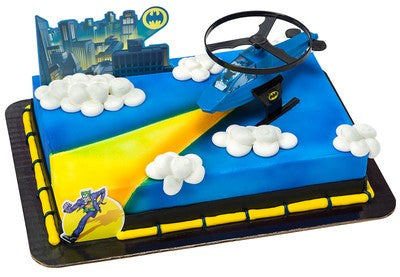 Batman Custom 1/4 Sheet Cake- Serves 20