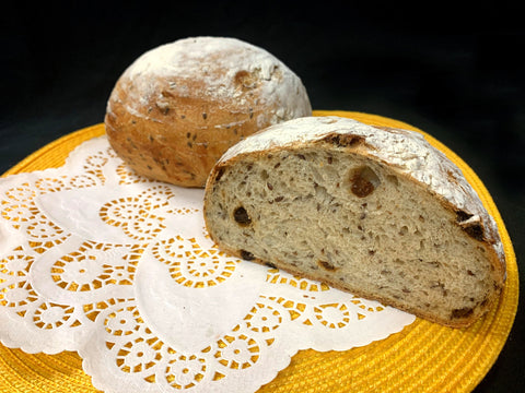 ***FEATURED BREAD - Currant Flaxseed (Available Friday, Saturday and Sunday Only)