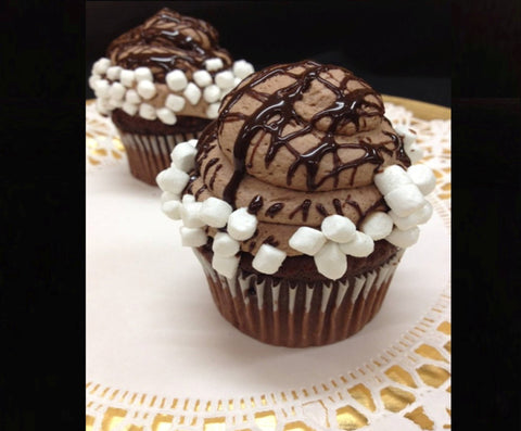 Hot Chocolate Specialty Cupcake