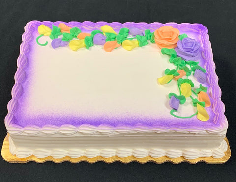 Custom Full Sheet Cake