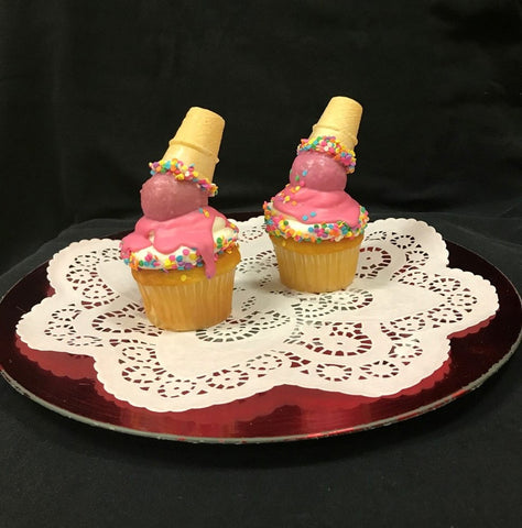 .Specialty Cupcake Of The Month, Uh-Oh Ice Cream Cone