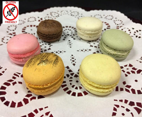 Assorted Individual French Macarons
