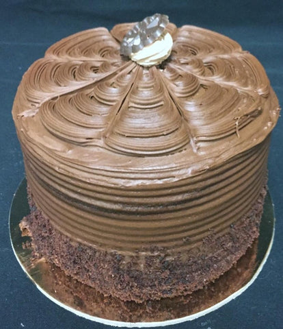 "Cake, 6"" Chocolate Layer Fudge"