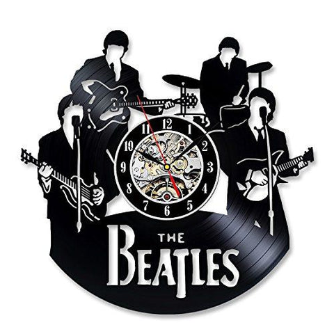 Back To Search Results For The Beatles Wall Clock - A Vinyl Beatles Record Wall Clock