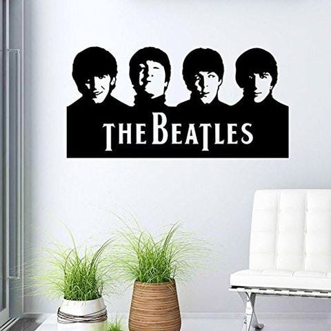 Back To Search Results For The Beatles Wall Decal - The Beatles Vinyl Waterproof Wall Stickers