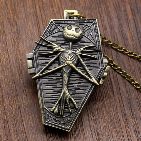 Pocket & Fob Watches - FREE Nightmare Before Christmas Pocket Watch