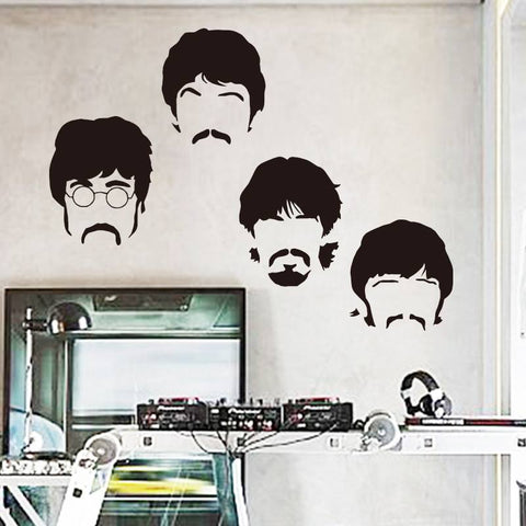 Wall Stickers - FREE BEATLES VINYL WALL STICKERS!