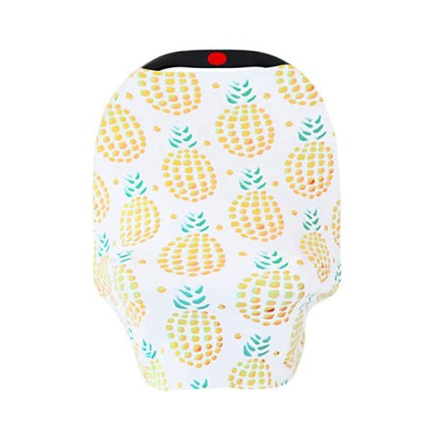 New Multi Use Car Seat & Nursing Cover, Pineapple