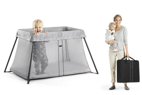 Baby Bjorn Travel Crib, Grey
