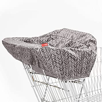 Skip Hop Shopping Cart Cover, Grey/White
