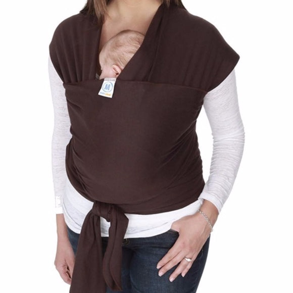 Moby Wrap Baby Carrier, Brown