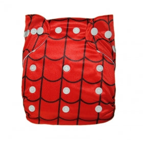 New Alva Baby Cloth Diaper, Spiderman