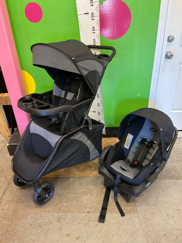 Evenflo Stroller w/ Free Car Seat & Base