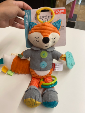 New Infantino Playtime Pal Rattle