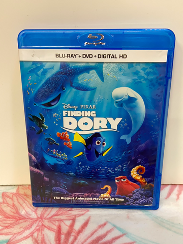Disney PIXAR Finding Dory Blu-Ray & DVD