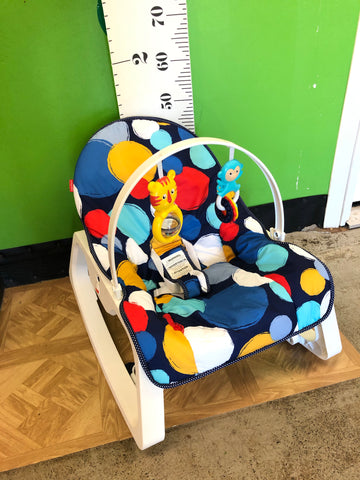 Fisher Price Infant to Toddler Rocker, Polka Dots