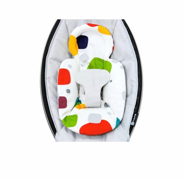 4moms Swing Infant Insert, Multi-Color Squares