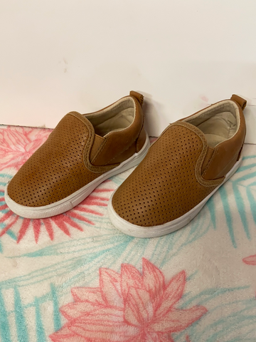 Little Bipsy Leather Shoes, Size 5