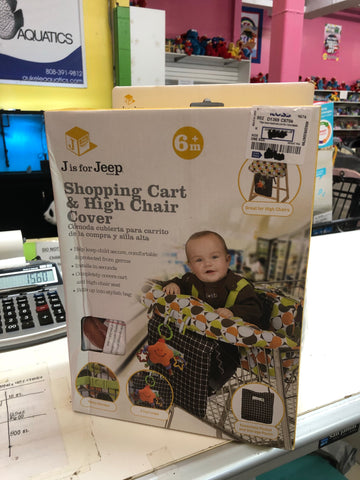 New Jeep High Chair & Shopping Cart Cover
