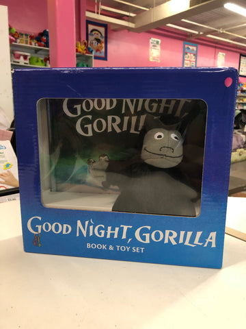 New Good Night Gorilla Book & Toy Set