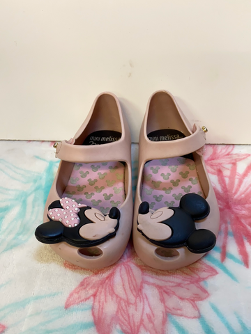 Disney Mini Melissa Sandals, Size 7