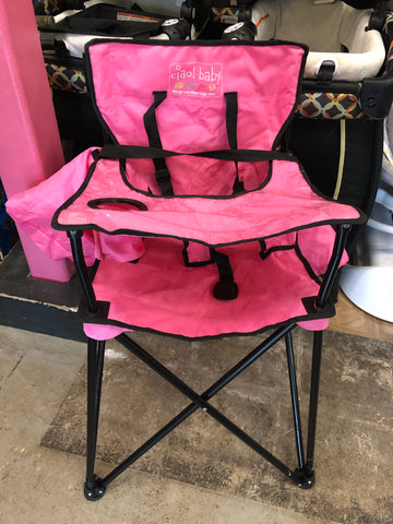 Ciao Baby Portable High Chair, Pink