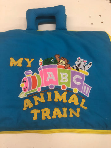 My ABC Animal Train Soft Toy