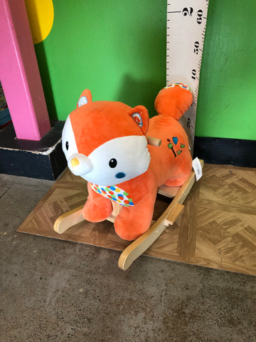 Hug Fun Fox Plush Rocker W/Sounds