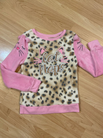Justice Plush Long Sleeve, Size 6-7