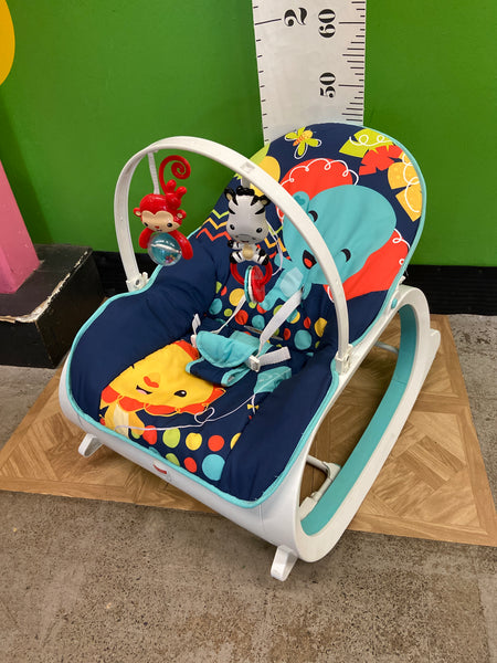 Fisher Price Infant to Toddler Rocker, Elephant