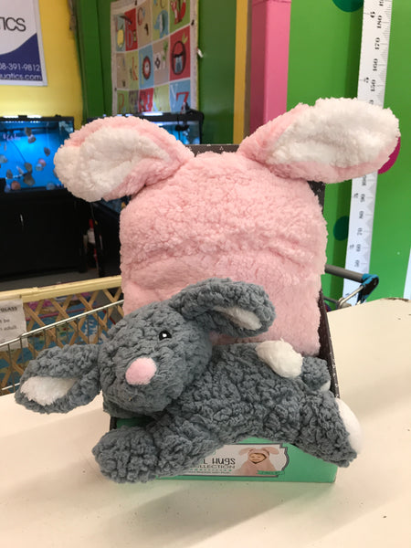 New Animal Hugs Hooded Blanket & Plush