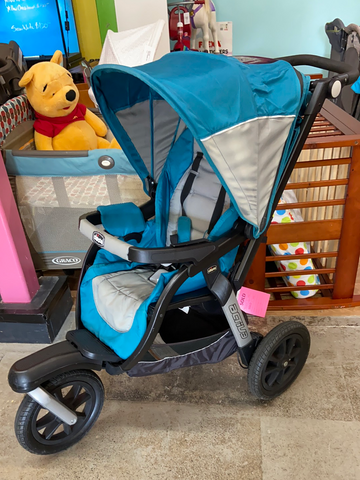 Chicco Active Jogging Single Stroller