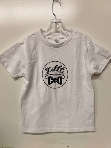 Little CEO Shirt, Size 5-6