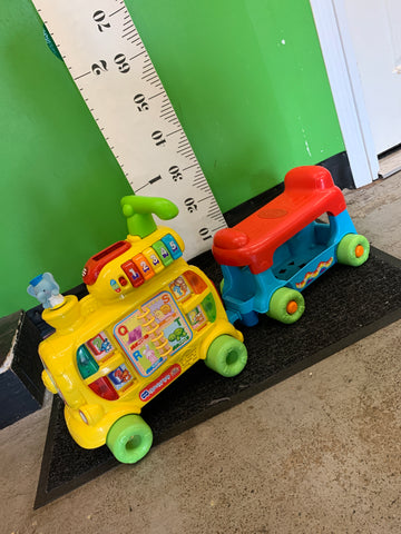Vtech Alphabet Train Ride-on